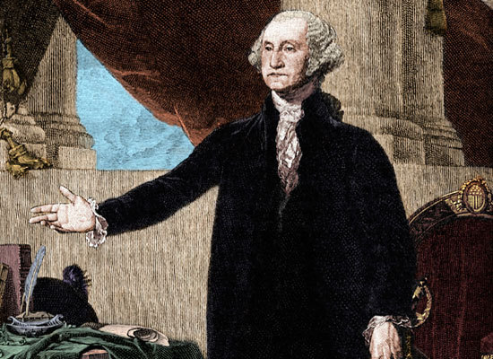 He wasn't required to deliver an inaugural address -- not by Congress nor by the new Constitution. But after taking the oath