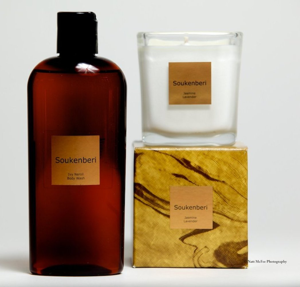 """<a href=""""www.soukenberi.com"""" target=""""_hplink""""><strong>Soukenberi Body Wash & Candle </strong></a>  Uplift your spirit at th"""