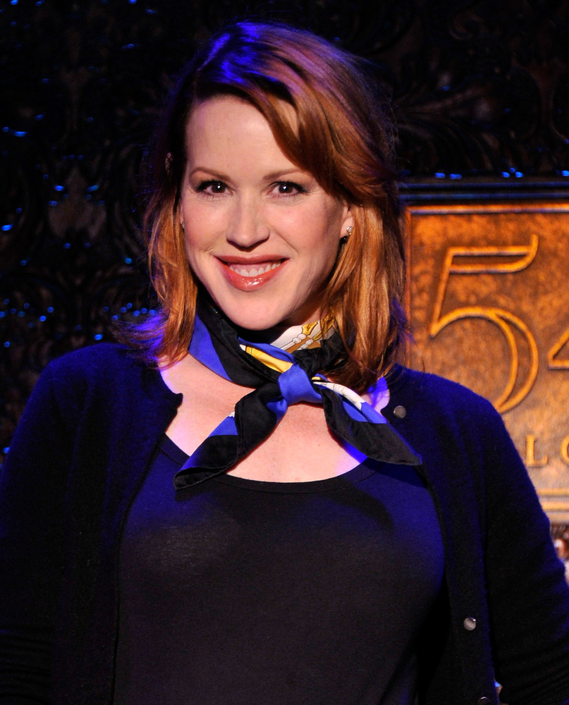 NEW YORK, NY - JANUARY 15:  Actress/singer Molly Ringwald attends a special press preview at 54 Below on January 15, 2013 in