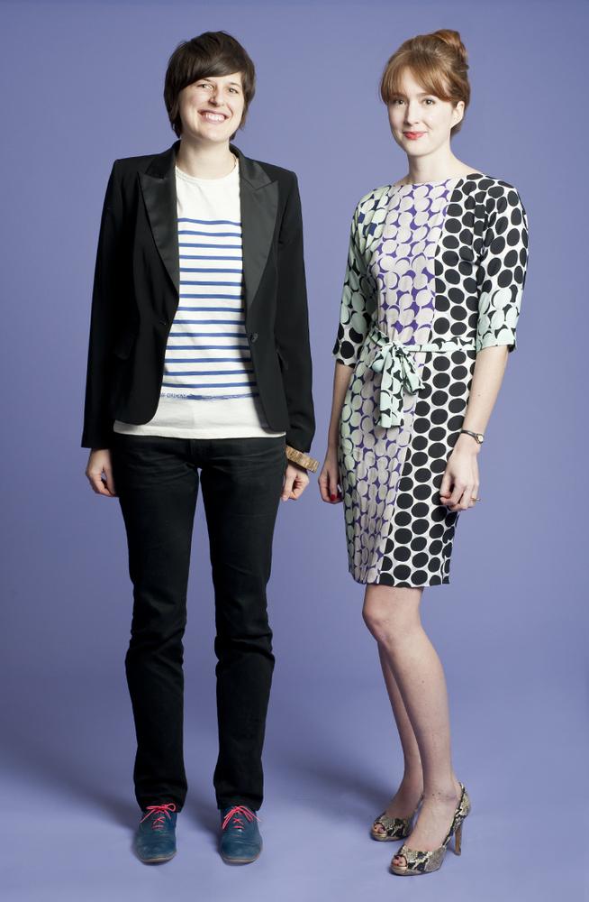 Kathleen Massara and Kristen Aiken