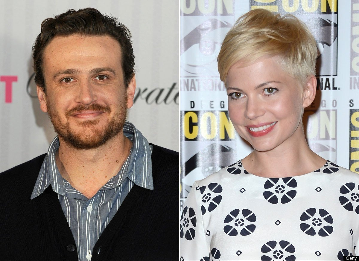 """Michelle Williams appears to have finally found love with longtime friend, """"How I Met Your Mother"""" actor Jason Segel. The cou"""