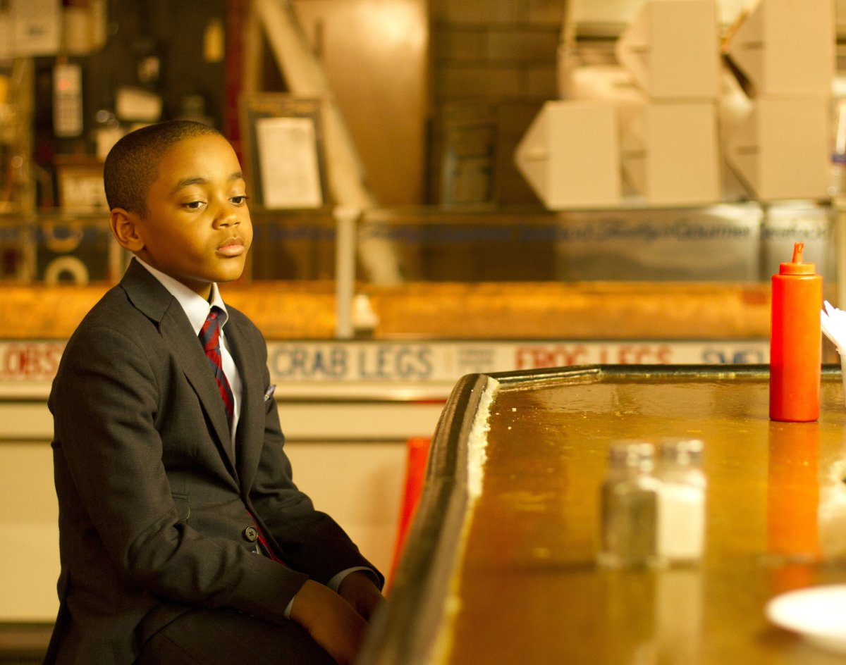 Michael Rainey Jr. plays Woody Watson, a Baltimore kid looking for guidance. (Photo Credit Bill Gray)