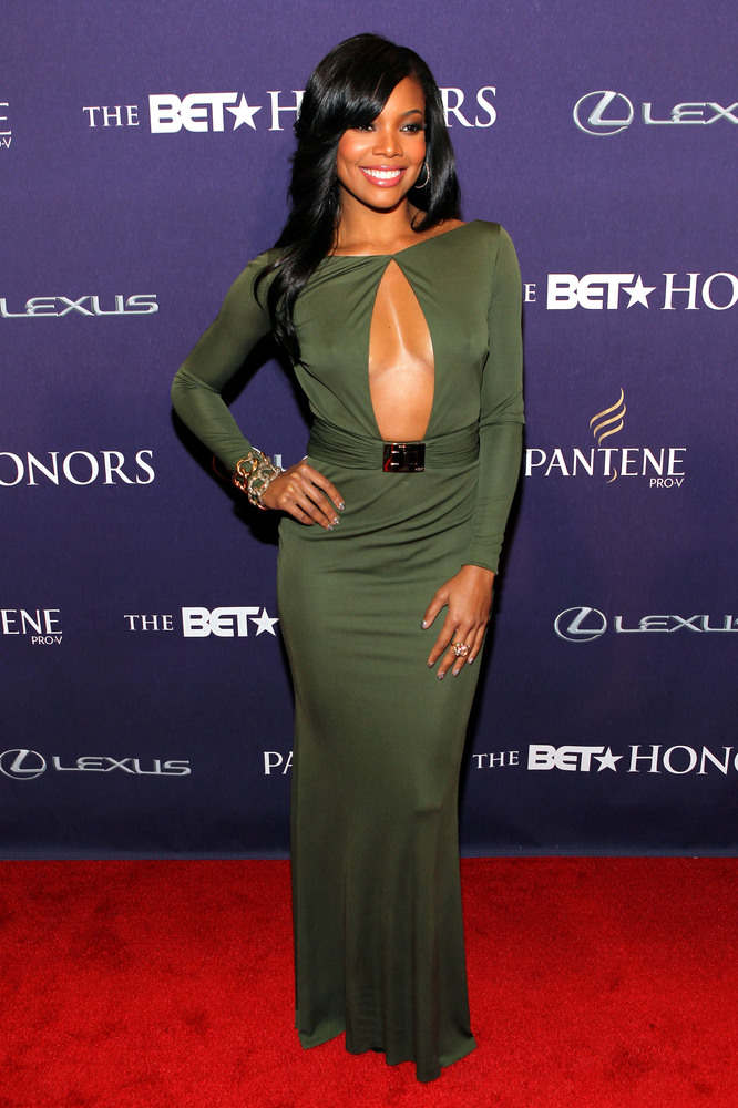 WASHINGTON, DC - JANUARY 12:  Gabrielle Union attends BET Honors 2013: Red Carpet Presented By Pantene at Warner Theatre on J