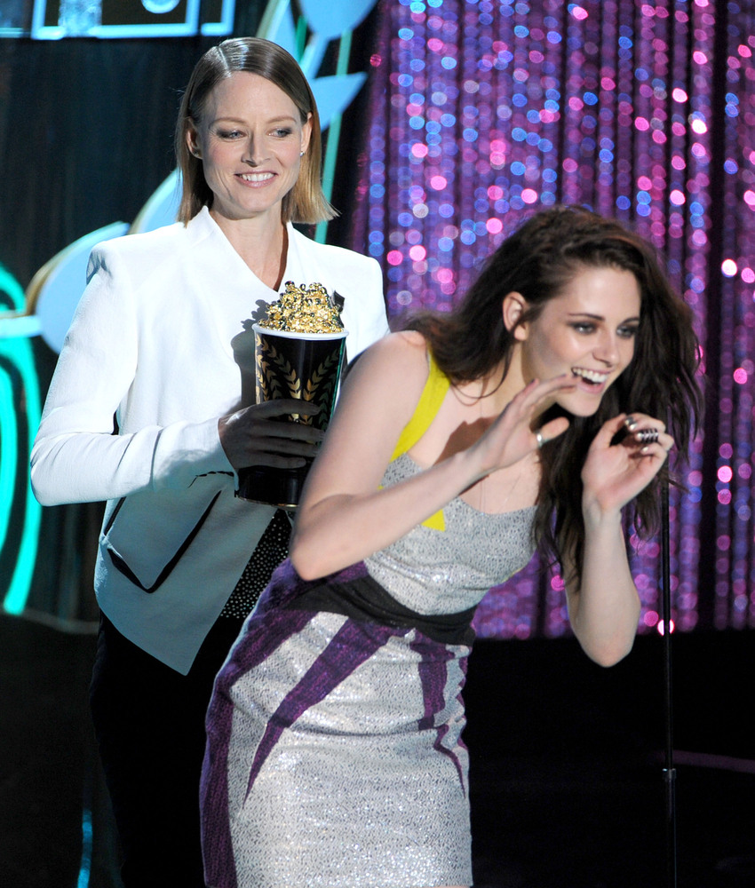 Foster pulled a surprise move when she not only slammed the media for making the Kristen Stewart cheating scandal a tabloid c