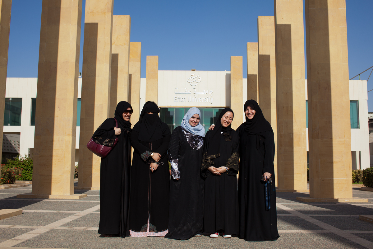 A women's university in Saudi Arabia adopted the Cisco Networking Academy curriculum and expanded employment opportunities fo
