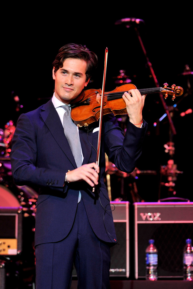 Charlie Siem performs onstage during the Prince's Trust Rock Gala 2011 at Royal Albert Hall on November 23, 2011 in London, E