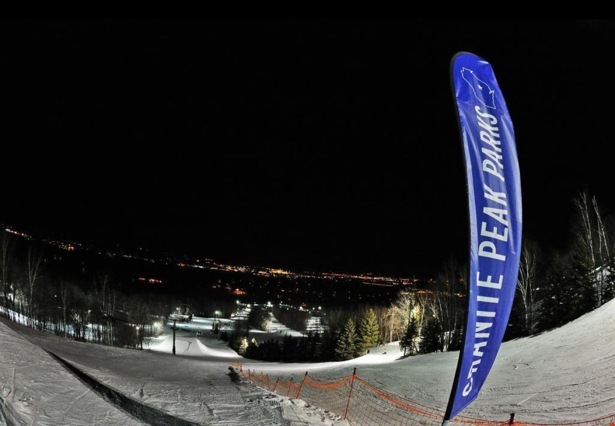 """<a href=""""www.skigranitepeak.com"""" target=""""_hplink"""">Granite Peak</a> comes alive both during the day and at night with its 74 r"""