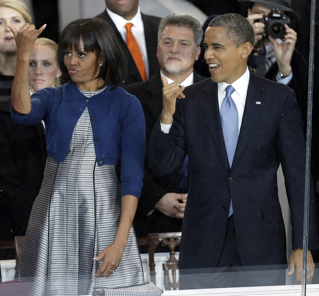 What are the Obamas rocking out to?