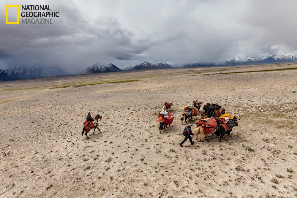 Nomads by necessity, the Kyrgyz move their herds across the Wakhan—a panhandle of alpine valleys and high mountains in northe