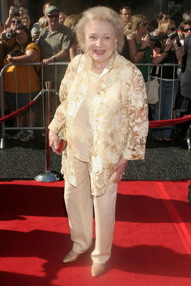 "I had the pleasure of interviewing Miss Betty White when she was 87. She was making the movie ""The Proposal"" with Sandra Bull"