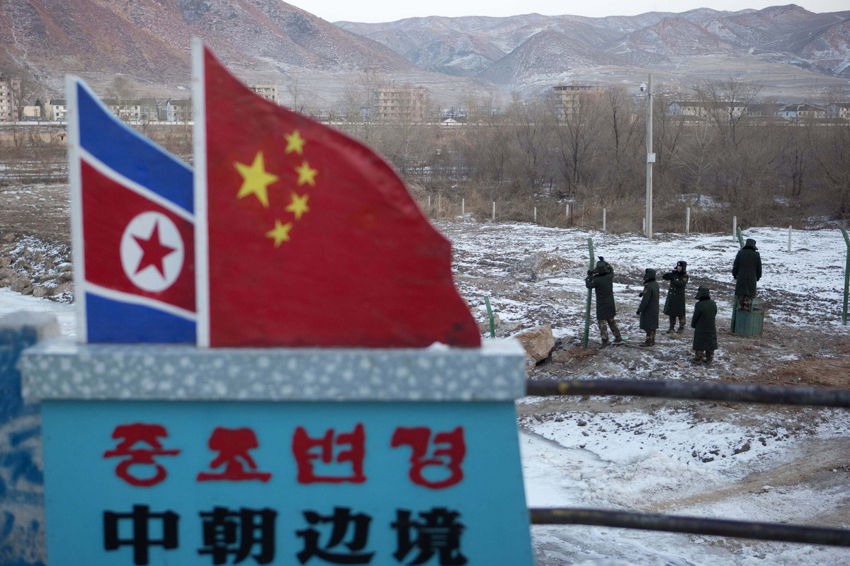 Beijing fears a collapse of the North Korean regime could send a massive flow of desperate, starving refugees into northeaste