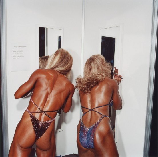 """Untitled (Bodybuilding #25)  Copyright Brian Finke, """"Title,"""" Date, Courtesy of ClampArt, New York City"""