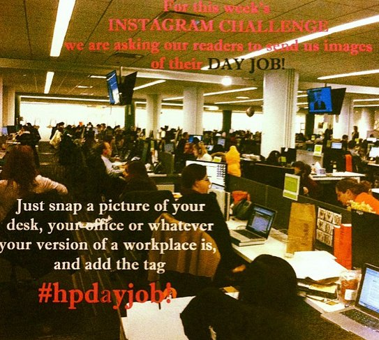 How do you spend your day? Submit photos of your workplace to us using the button above.