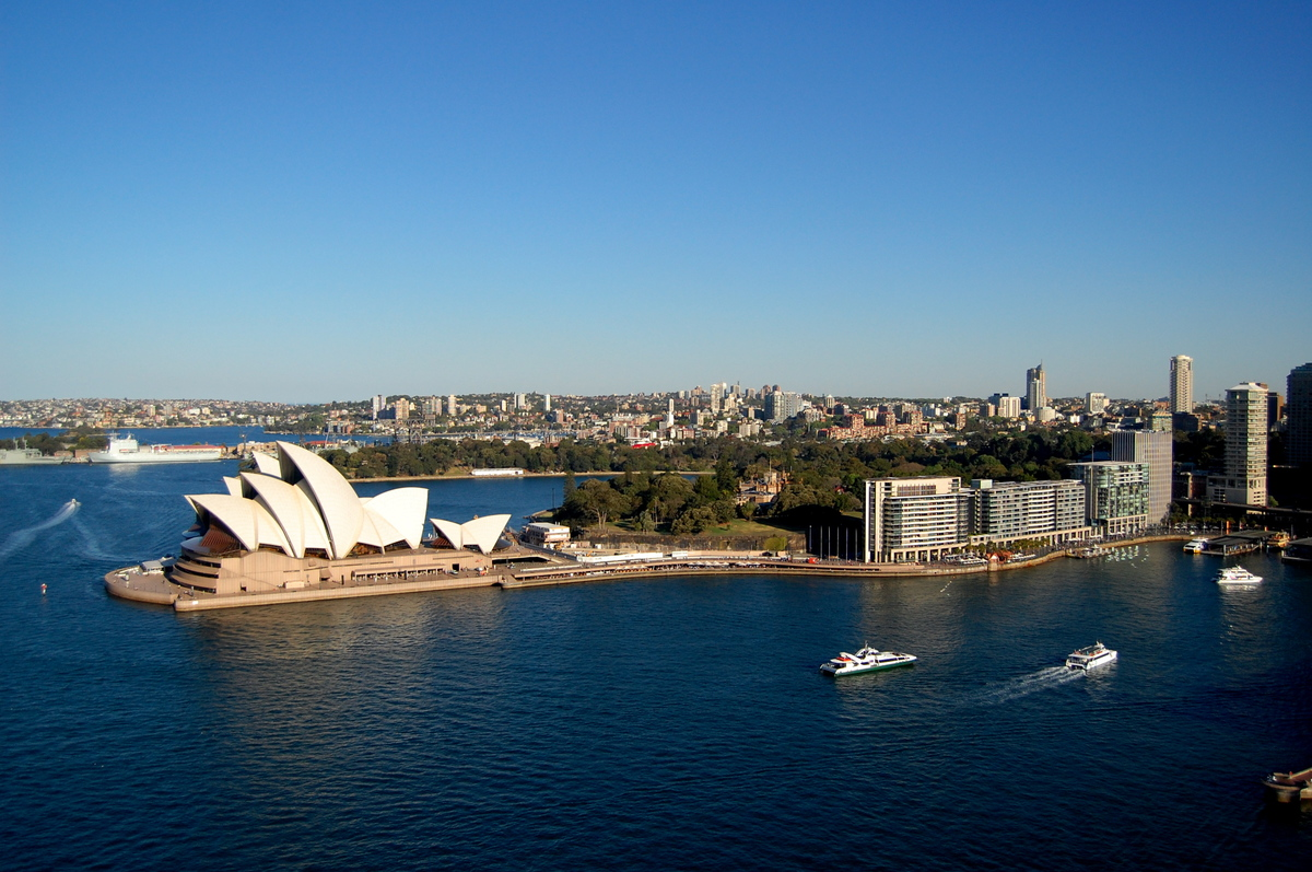 A beautiful, modern metropolis, Sydney offers travelers the opportunity to stand beneath the domes of its famous Opera House
