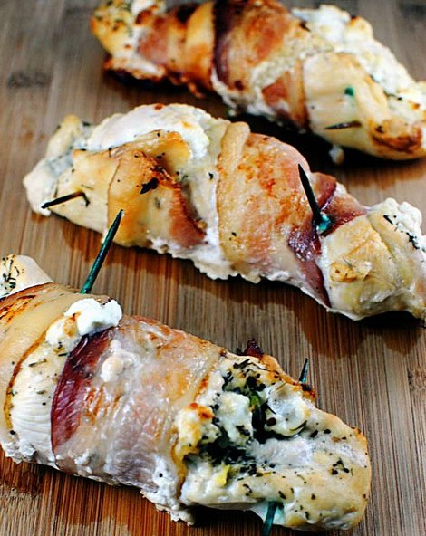 "<strong>Get the <a href=""http://recipefirst.blogspot.com/2013/01/fresh-cheese-stuffed-chicken.html"">Fresh Cheese Stuffed Chic"