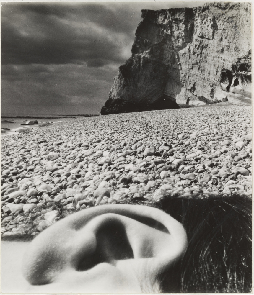 Bill Brandt (British, born Germany. 1904–1983). Seaford, East Sussex CoastM. 1957. Gelatin silver print. 9 x 7 11/16″ (22.9 x