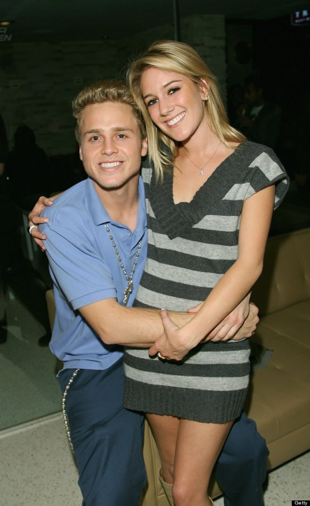 Heidi and Spencer attend the kick off party for MTV's reality show <em>Twentyfourseven</em> at Area, Los Angeles in November
