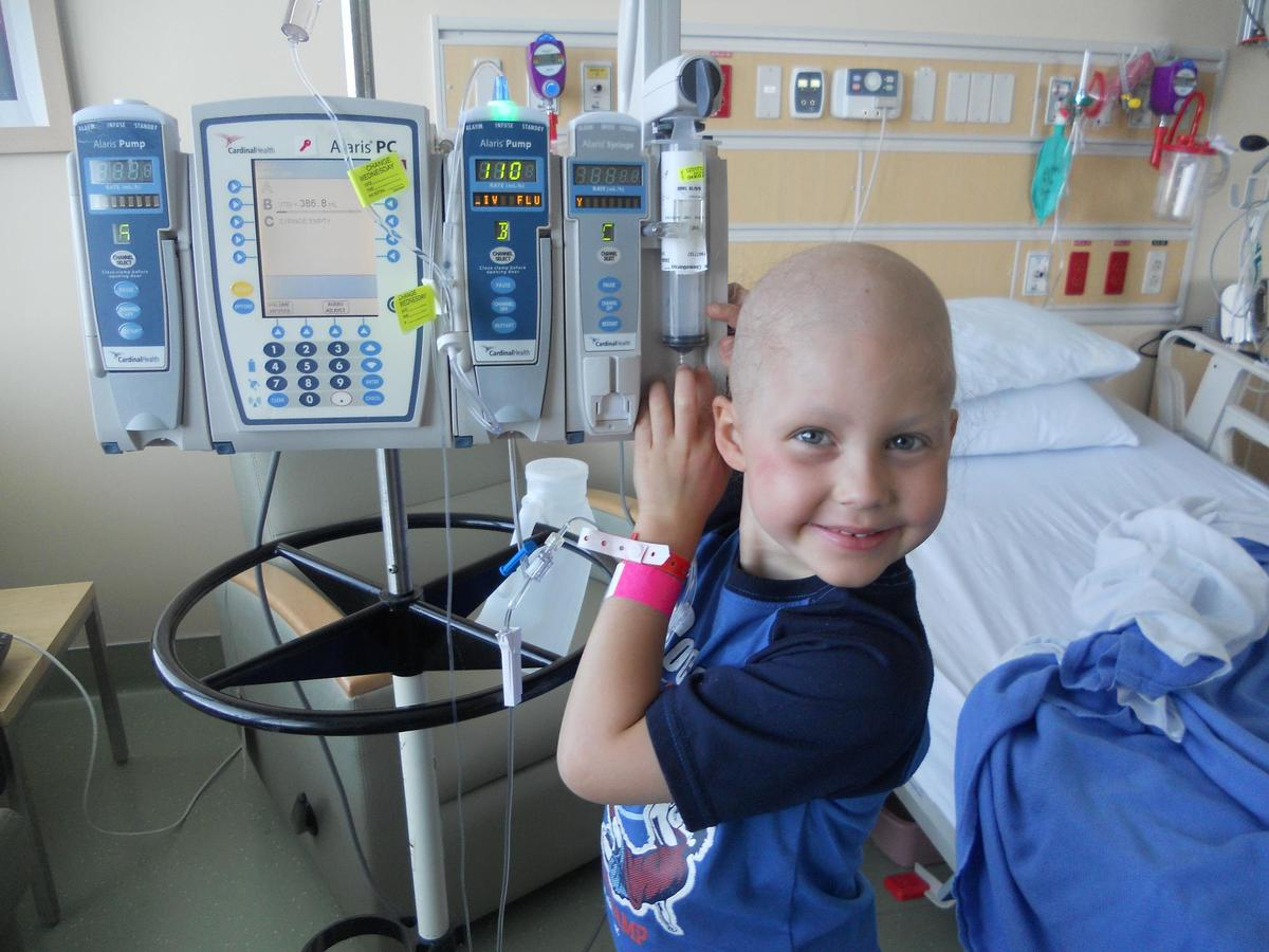 Zach Guillot was diagnosed with AML leukemia in February 2010. Recently, the 8-year-old Batman fan received a phone call from