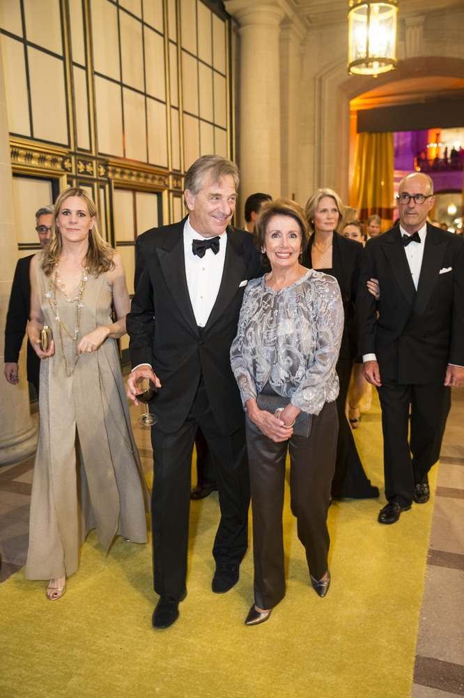 Paul and Nancy Pelosi