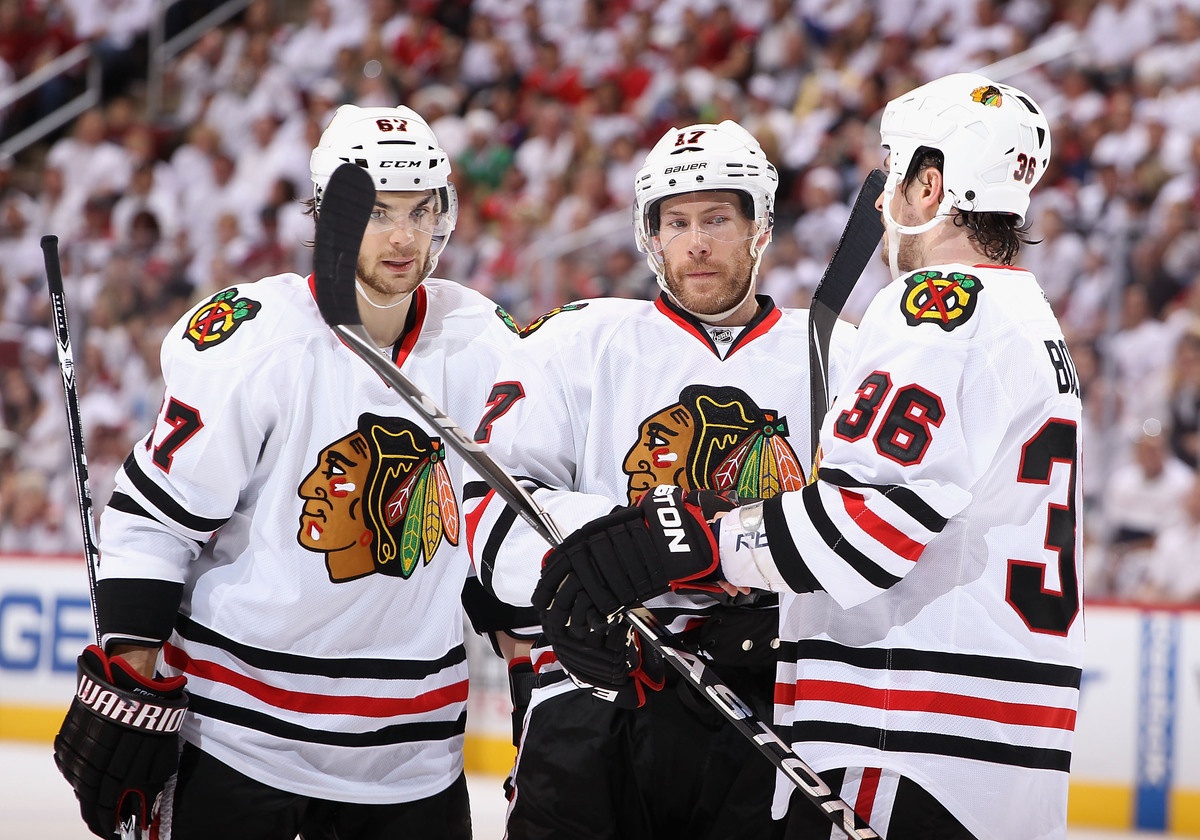 The Blackhawks have the best scoring in the league, netting 20 goals in their first five games.