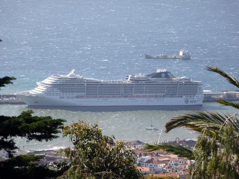 MSC Divina at Port of Funchal