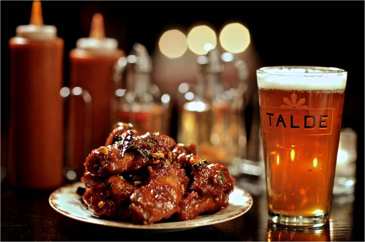 <strong>Kung Pao Chicken Wings </strong> Former Top Chef chef-testant Dale Talde tosses deep-fried chicken wings in a sweet a