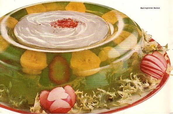 A banana-infused Jello dish