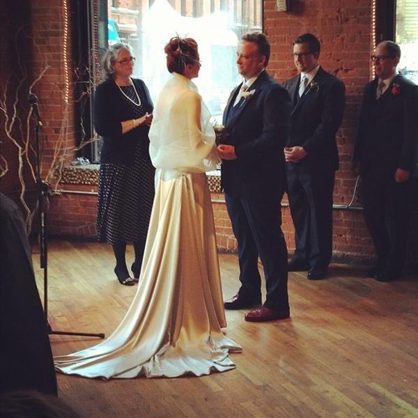 @phaeeliz: #realweddingphoto from Sunday! 1-27-13