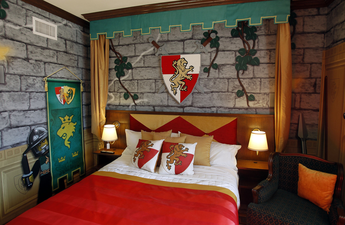 "The ""Kingdom"" rooms of the hotel are intended to make kids and their parent feel like royalty."