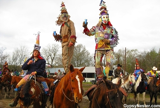 """A long-held Cajun Country tradition featured in many small towns, the <a href=""""http://www.gypsynester.com/courirdemardigras.h"""