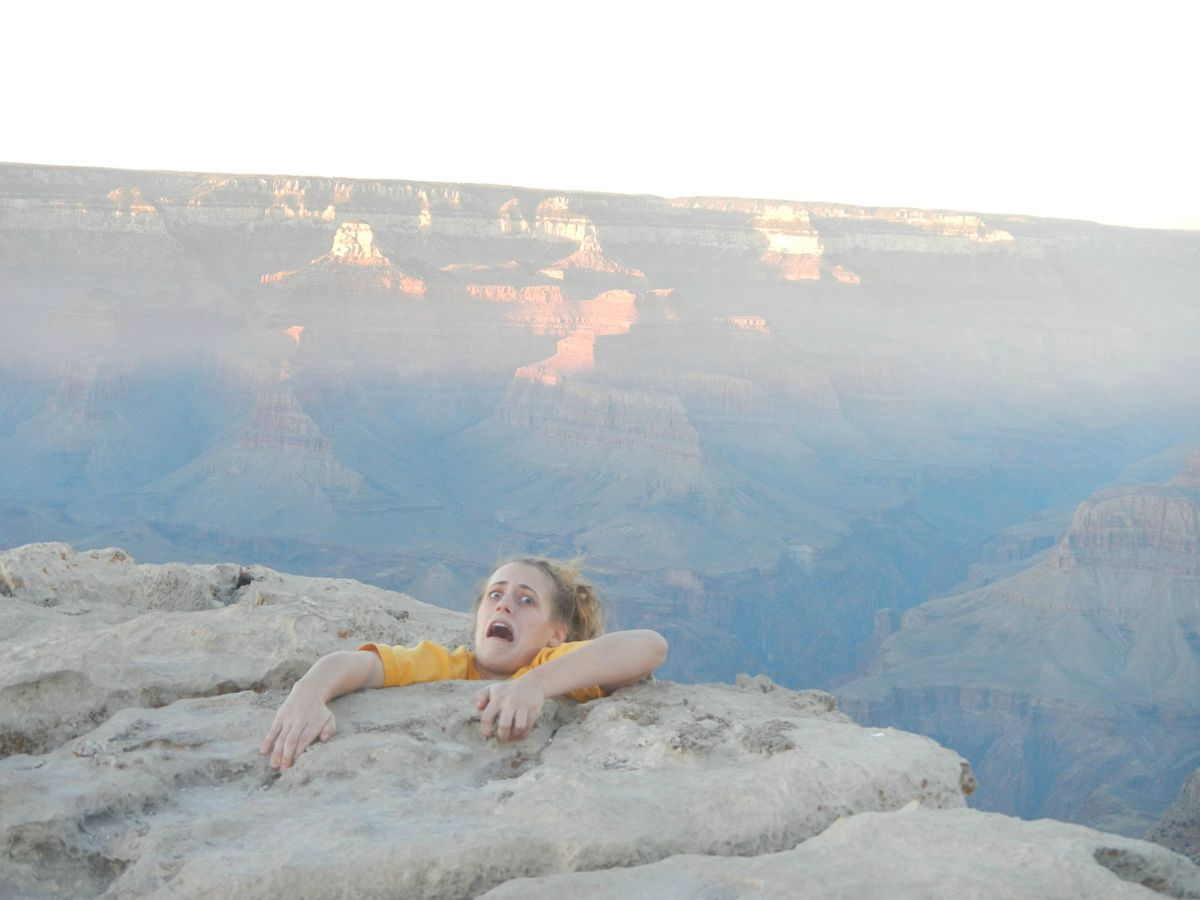 The Grand Canyon never looked so beautiful...or horrifying.