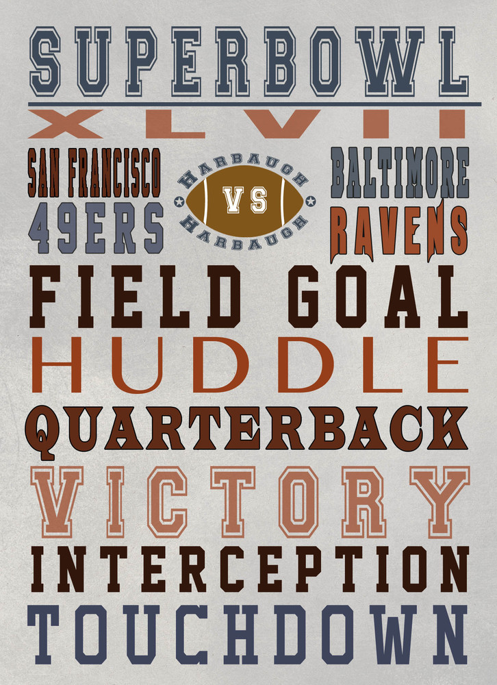 """Huddle everyone into the super bowl spirit and hang these posters up!  For the free printable, visit <a href=""""http://www.made"""