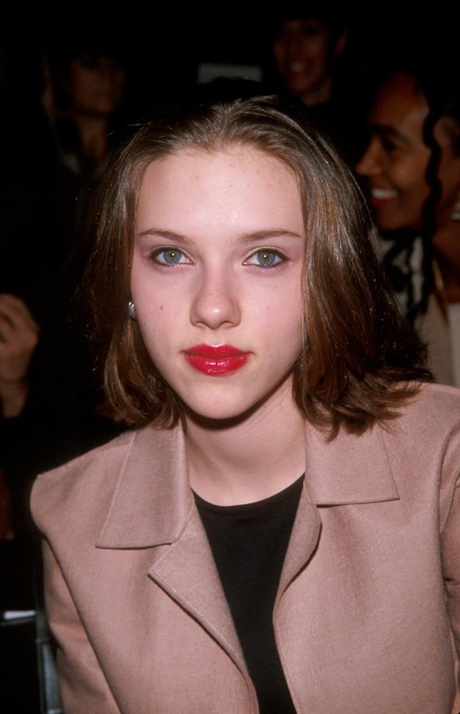 Scarlett Johansson before...