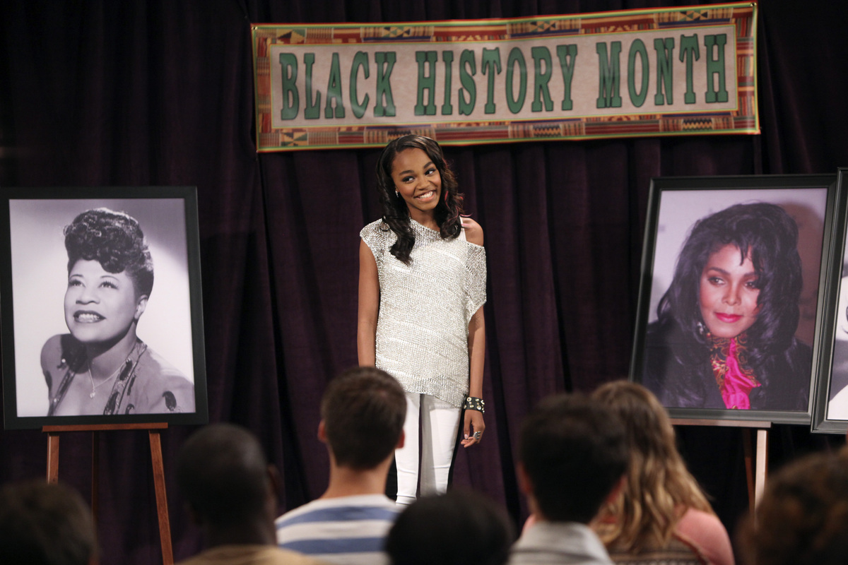 Chyna and the ANTs are tasked with creating a special project for Black History Month. As Chyna struggles to write a song for