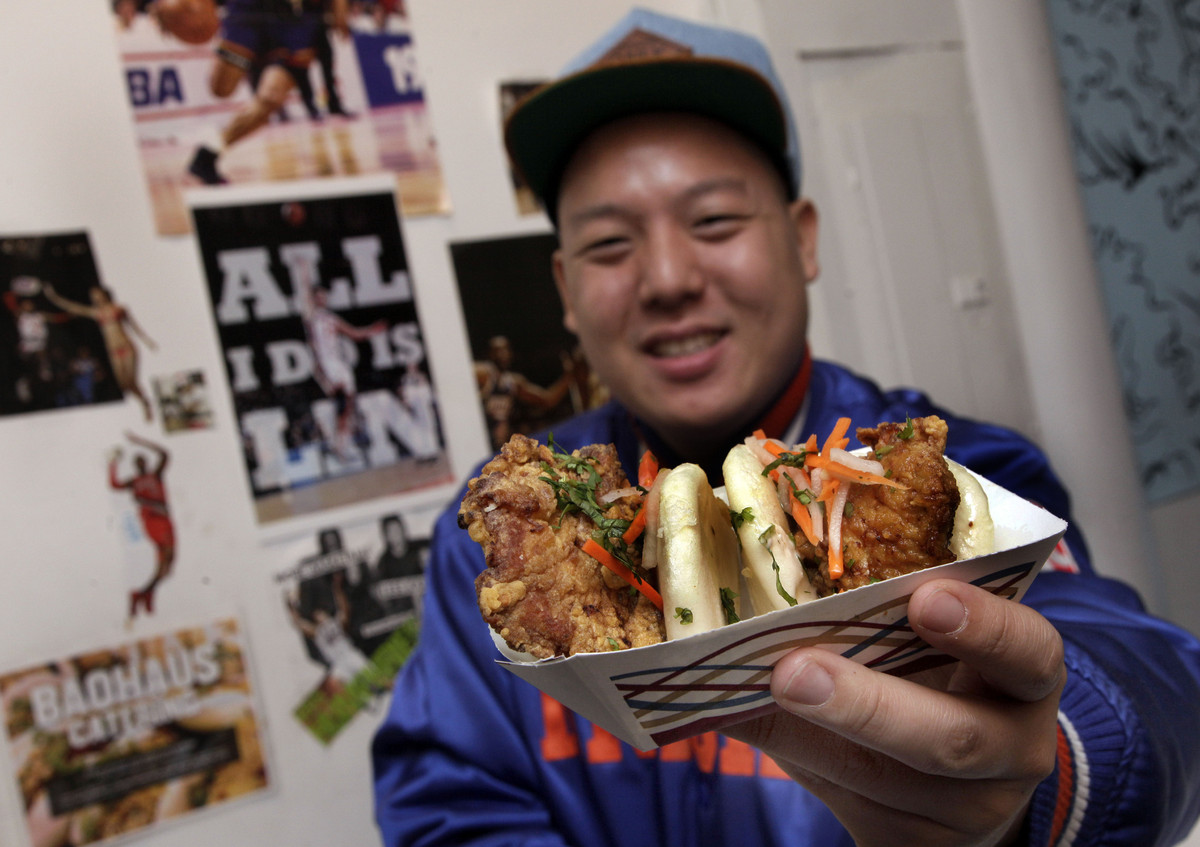 New York City-based chef Eddie Huang has been controversial since he first gained acclaim for his bao eatery, BaoHaus. The ma
