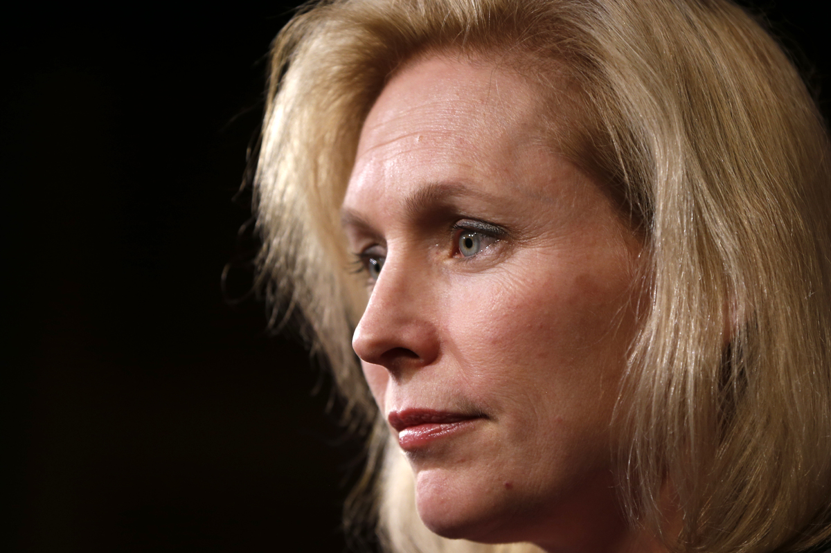 During an appearance on HuffPost Live, Sen. Kirsten Gillibrand (D-N.Y.), Gillibrand opened up about what she felt she couldn'