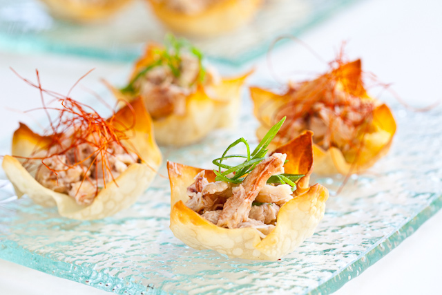 """<strong>Get the <a href=""""http://steamykitchen.com/15326-baked-crab-rangoon.html"""">Baked Crab Rangoon recipe</a> by Steamy Kitc"""