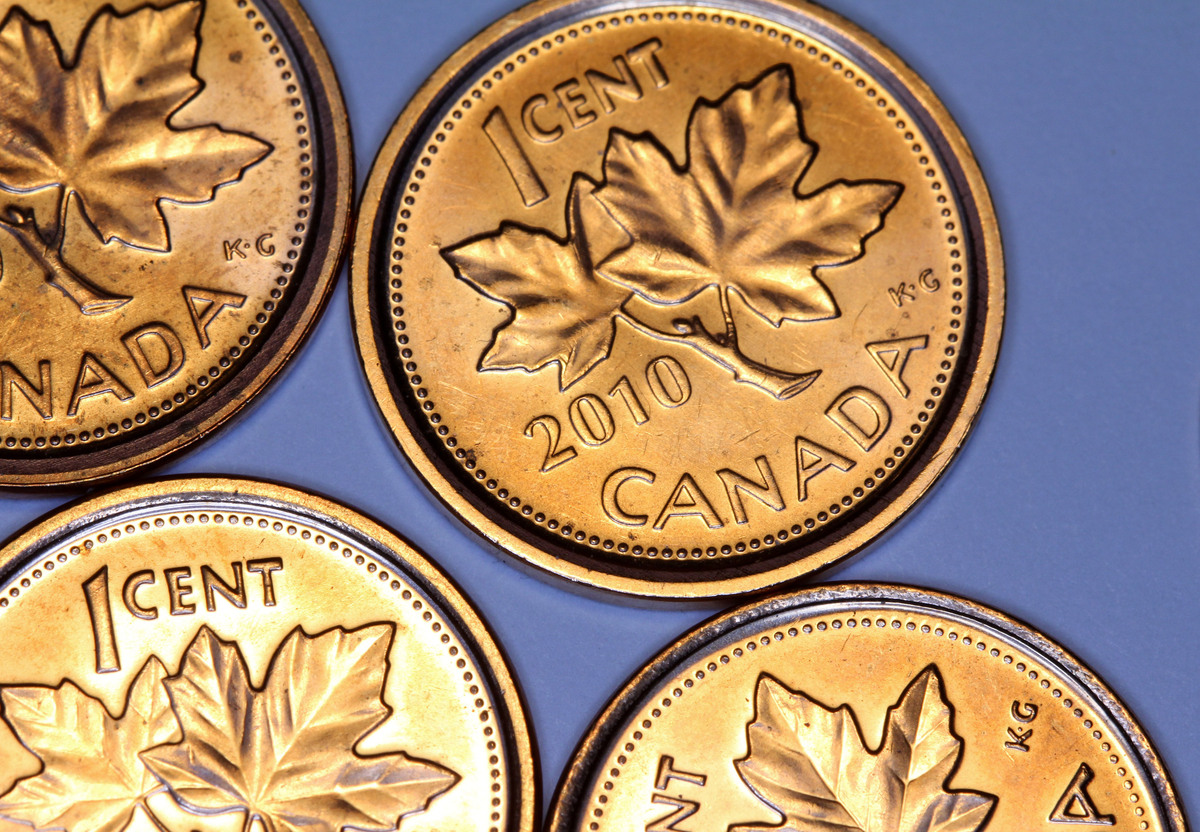 The Royal Canadian Mint stopped making new pennies in May, 2012, after the government announced in its spring budget it's dis