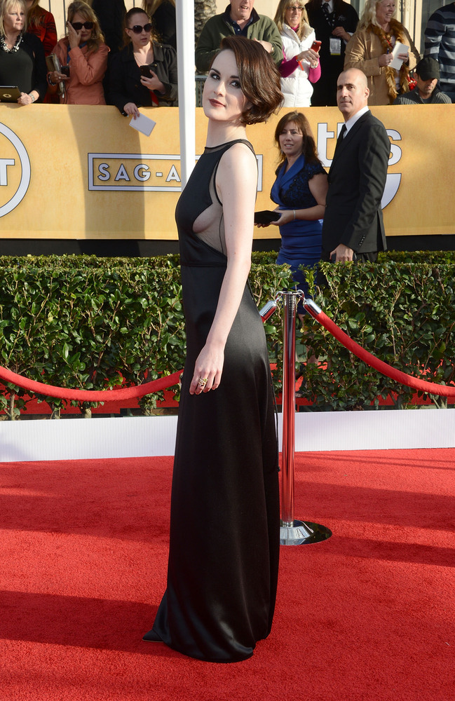 """The breakout performance at the SAG Awards came from <a href=""""http://www.huffingtonpost.com/2013/01/27/michelle-dockery-sag-s"""