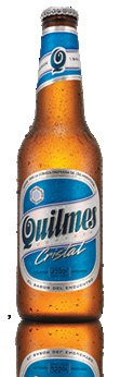 Born and brewed in the city that gave it its name, Quilmes is a lager recognized abroad and at home as Argentina's blue and w