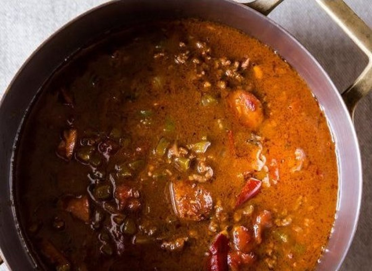 "<em><strong><a href=""http://food52.com/recipes/15900_chili_gumbo"" target=""_hplink"">Get the recipe</a></strong>.</em><br>