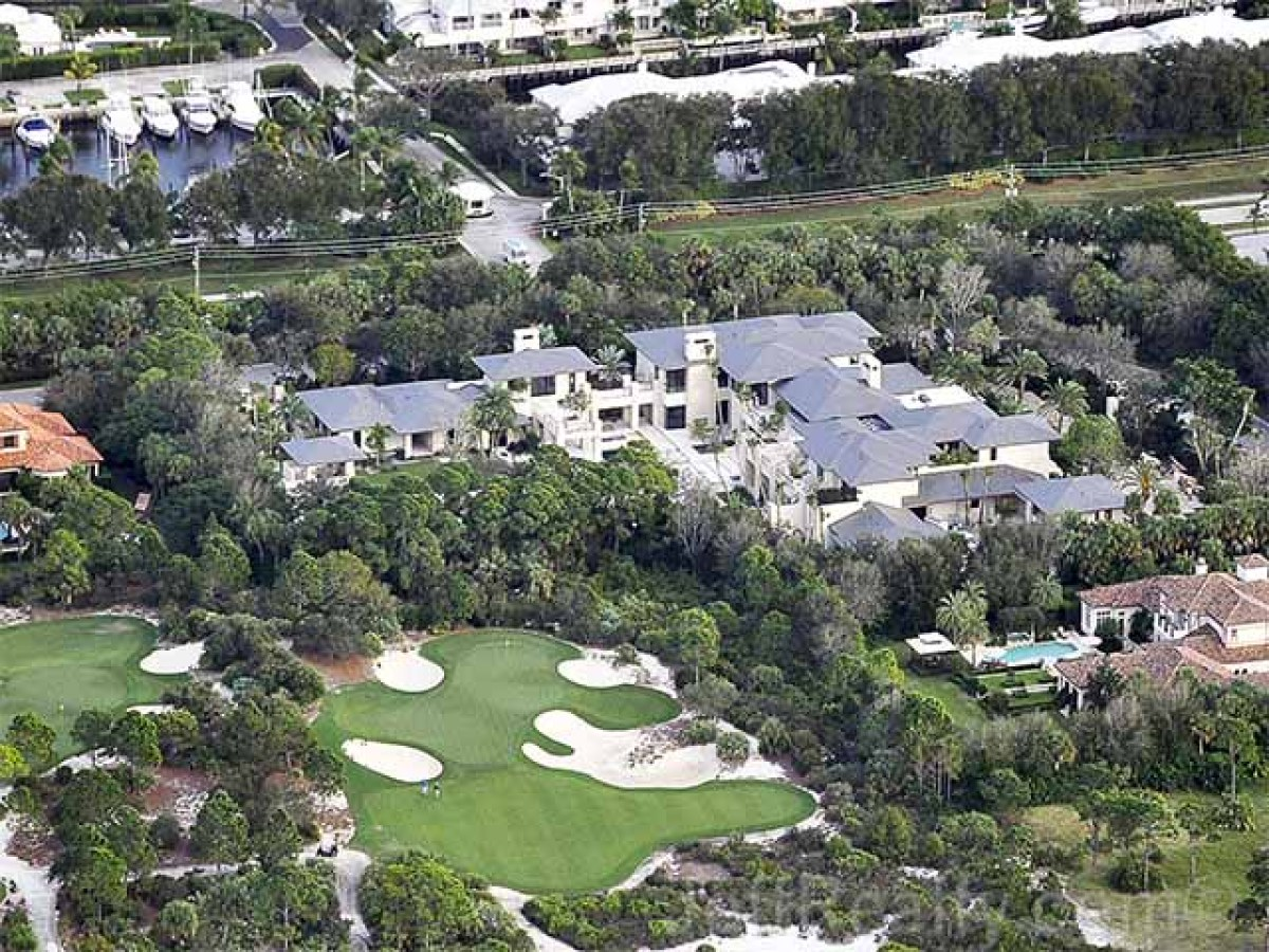 Michael Jordan's Florida home