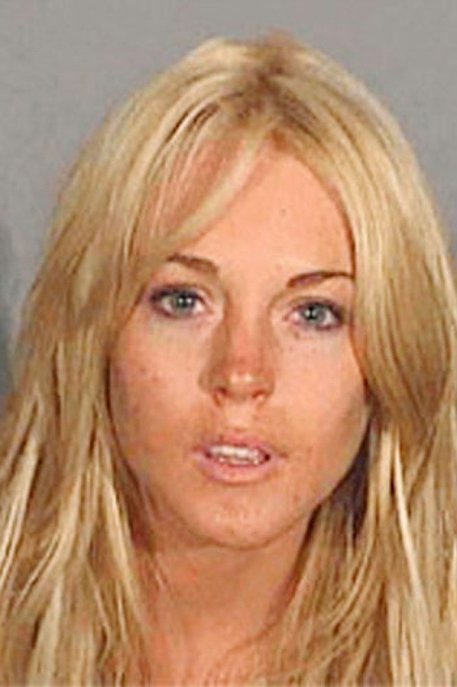 Lindsay Lohan  Lindsay Lohan had a bad year in 2007, with at least two arrests that eventually saw her admit possessing coc