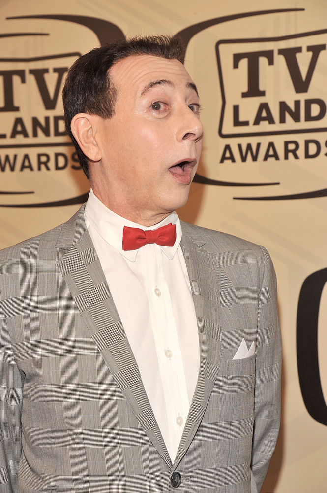 Here, actor Paul Reubens 'Pee-wee Herman' attends the 10th Annual TV Land Awards in April, 2012. In 1991, Reubens was <a href