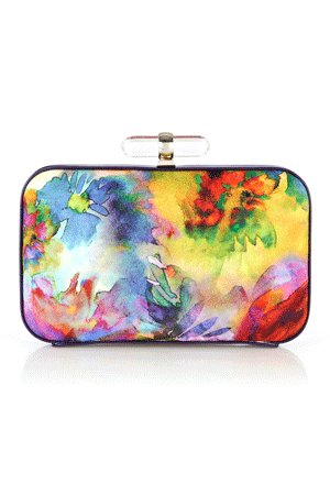 "Multi-coloured clutch, <a href=""http://www.coast-stores.com/"" target=""_hplink""><strong>Coast, £55. </strong></a>"