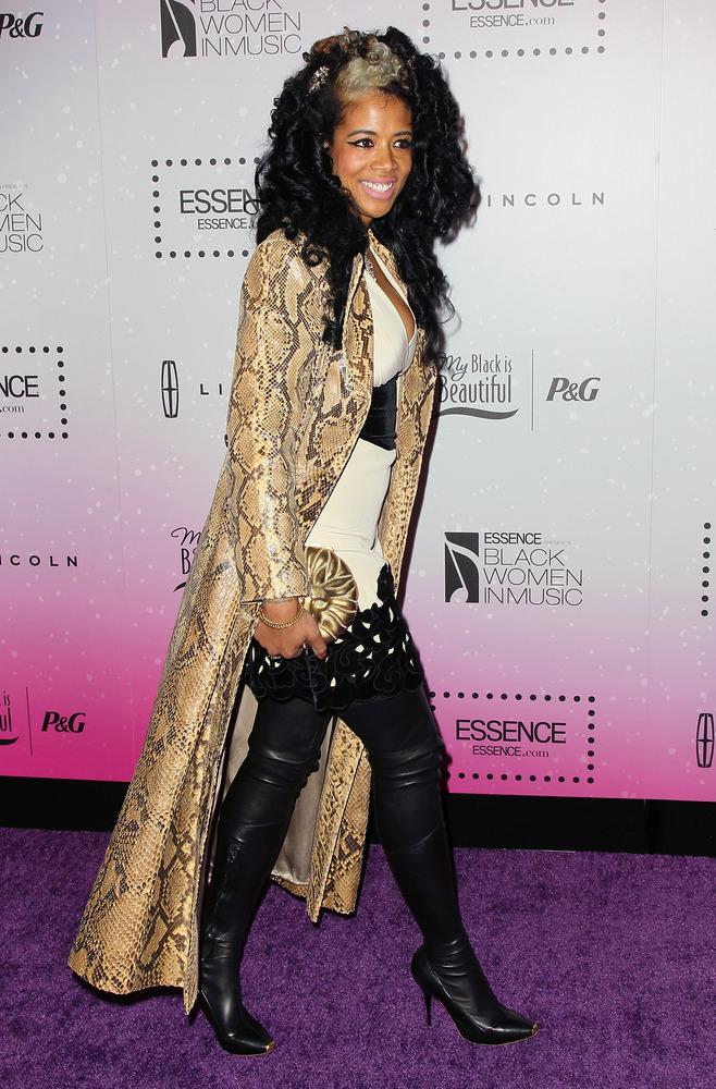 WEST HOLLYWOOD, CA - FEBRUARY 06: Singer Kelis attends the 4th Annual ESSENCE Black Women In Music honoring Lianne La Havas