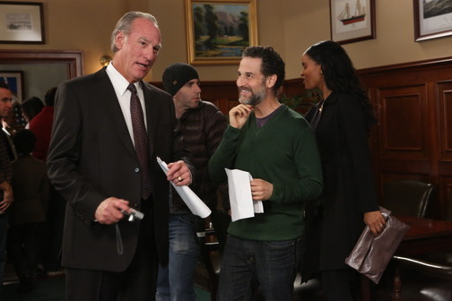 """Filming the Season 4 finale of """"Parenthood"""""""