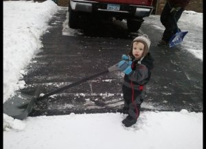 Who doesn't love to shovel!?