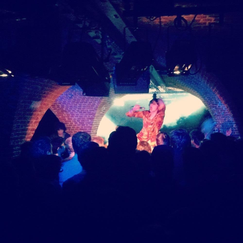 Foxygen at the Witloof Bar in Brussels, Belgium. Taken by instagrammer @pinocello