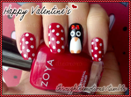 28 Valentine\'s Day Nail Art Ideas To Put You In The Mood For Love ...